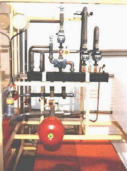Heating test cell